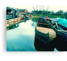 Abandoned Boats Canvas Print