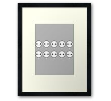 One a scale of 1 to 10, how would you rate your pain? Framed Print