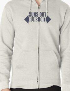 Suns Out Guns Out Fitness T-Shirt