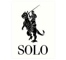 SOLO by Tai's Tees Art Print