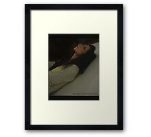 Welcome to the Smoking Room Framed Print