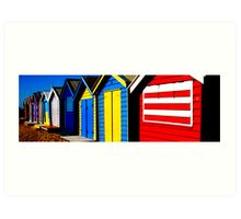The Colours of Summer Art Print