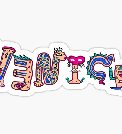 Venice Sticker