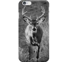 B&W Buck iPhone Case/Skin