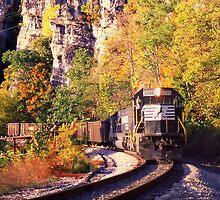 Eggleston, VA Coal Drag - Virginian Railway by TrainmasterBob