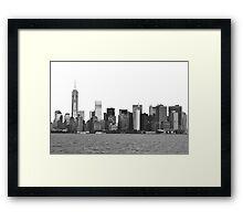The City That Never Sleeps Framed Print