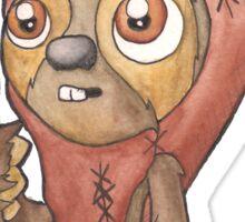 Wicket Sloth Sticker