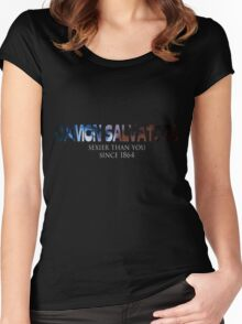 Damon Salvatore Sexier Than You Since 1864 Women's Fitted Scoop T-Shirt