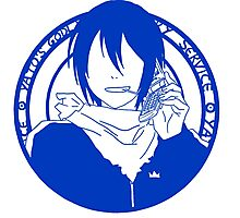 Yato's Godly Delivery Service Photographic Print