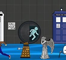 Doctor who vs portal2 by Epiclymadguy