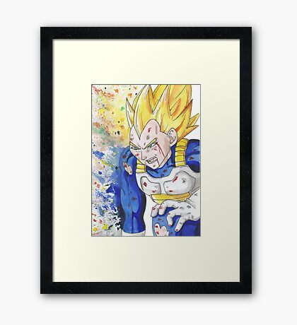 Get Up And Fight Framed Print