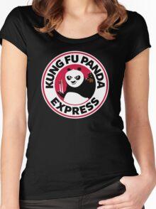 Kung Fu Panda Express Women's Fitted Scoop T-Shirt