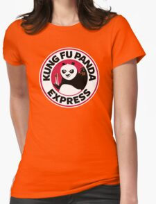 Kung Fu Panda Express Womens Fitted T-Shirt