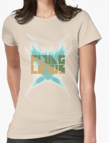 Flying Lotus Sprint Womens Fitted T-Shirt