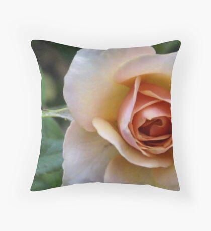 miniture rose Throw Pillow