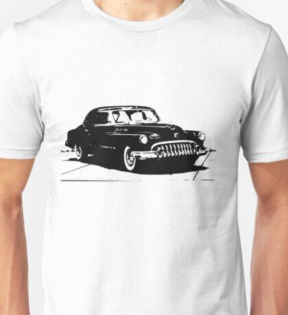 50s Retro Car Design  Unisex T-Shirt