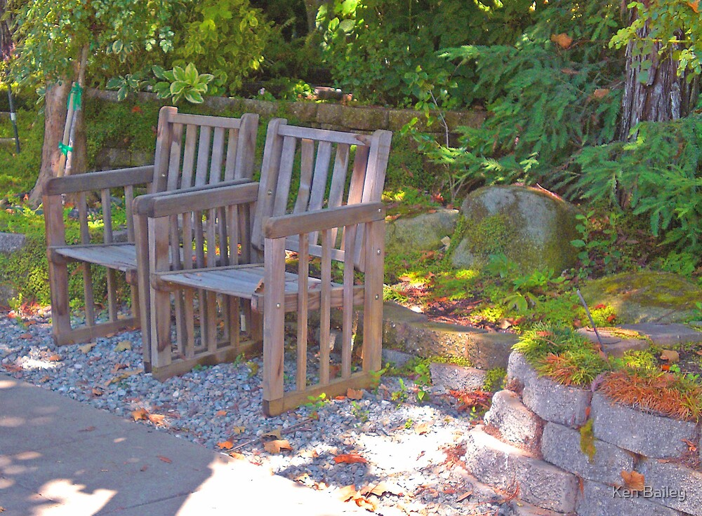 Shady Chairs by Ken Bailey