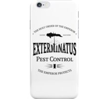Exterminatus - Black - Warhammer iPhone Case/Skin