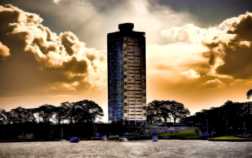 Blues Point Tower by Chroma