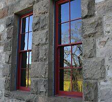 window reflection by Shane Smith
