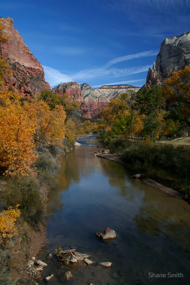 Virgin River, Zion by Shane Smith