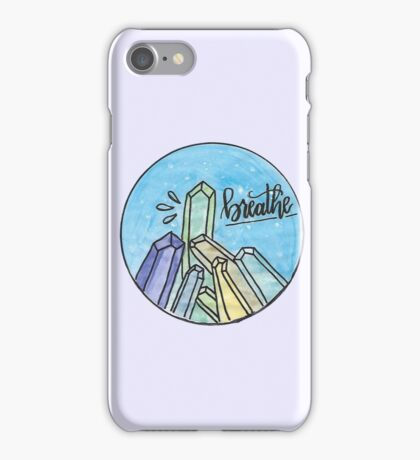 Crystal Breathe Watercolor iPhone Case/Skin