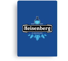 Heisenberg Crystal Meth Canvas Print