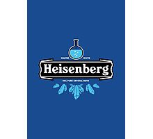 Heisenberg Crystal Meth Photographic Print
