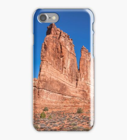 Courthouse Towers at Arches National Park iPhone Case/Skin