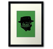 Tread Lightly Framed Print