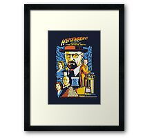 Heisenberg and the Empire of the Crystal Meth Framed Print