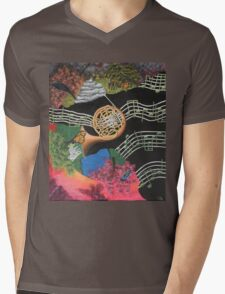 Musical Transformation Mens V-Neck T-Shirt