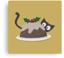 Christmas Pudding Canvas Print