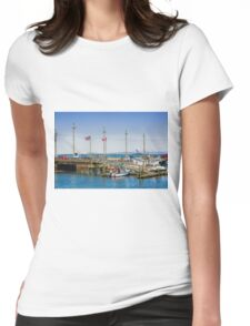 Across to Canada Womens Fitted T-Shirt