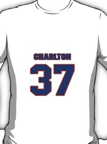 National baseball player Norm Charlton jersey 37 T-Shirt