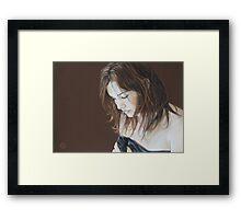 Emma Framed Print