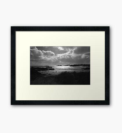 West Coast -  Tasmania Framed Print