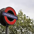 Underground - London by Hilda Rytteke