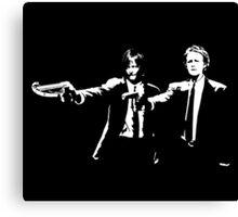Daryl and Carol Canvas Print