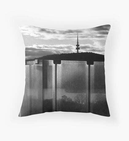 Aspirational Transparency Throw Pillow