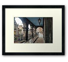 victoria terrace2,edinburgh  Framed Print