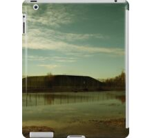 Reflections at the Missile Silos - Greenham Common iPad Case/Skin