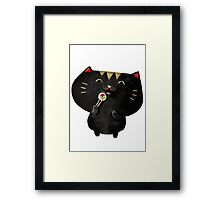 Sushi Cat Framed Print