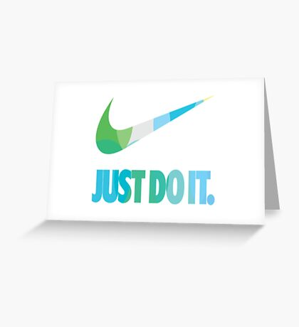 NIKE Greeting Card
