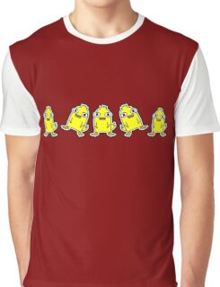 Ducky Momo Dance  Graphic T-Shirt