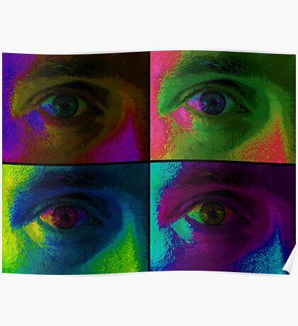 4 eyes (experimental) Poster