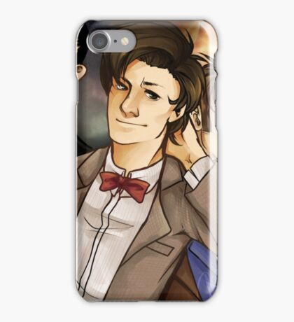 Dr Who 3 Doctors iPhone Case/Skin