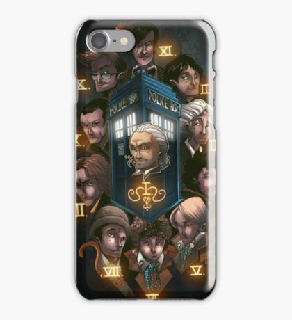 Dr Who All the Doctors iPhone Case/Skin