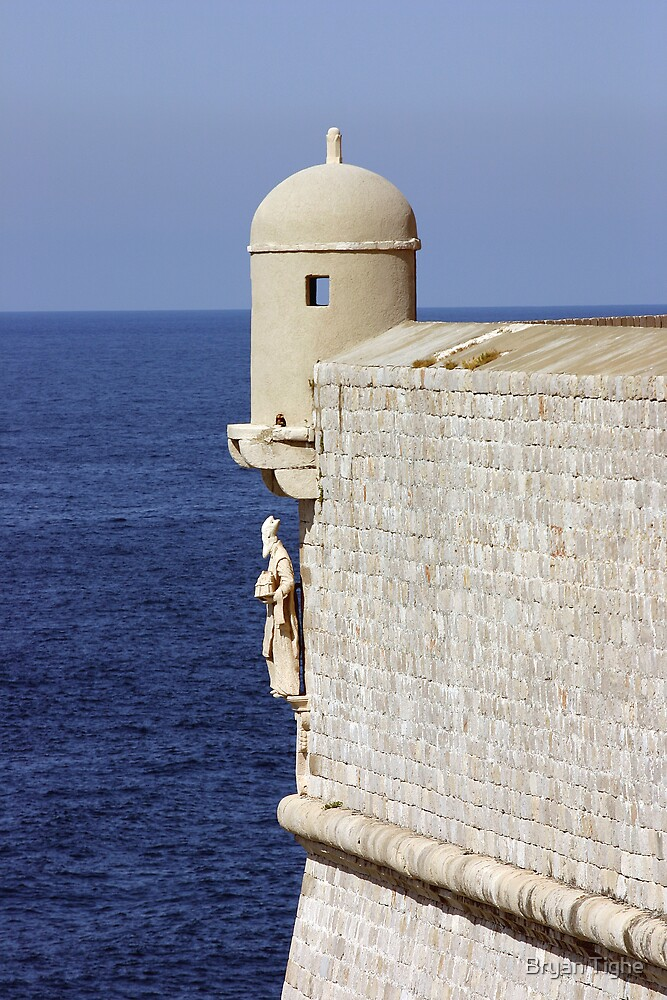 The Wall of Dubrovnik by Bryan Tighe