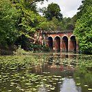 Hampstead Heath Viaduct - London by Hilda Rytteke